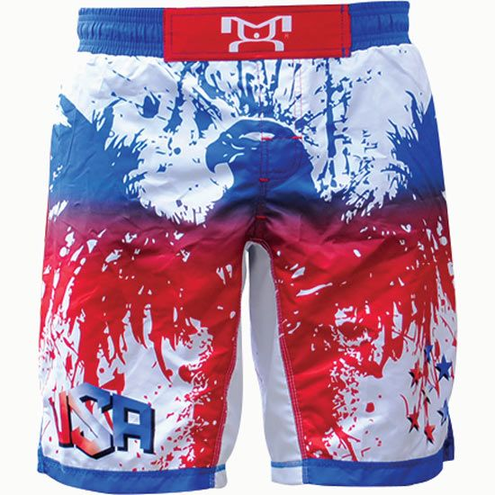 MyHouse Sublimated USA Wrestling Fight Short