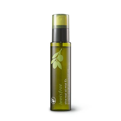 Innisfree Olive Real Oil Mist Ex 80ml Features A 3 In 1 Essential Mist That Forms A Moisturizing Film On The Dr Pece O Plet