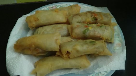 Spring Rolls With Noodles