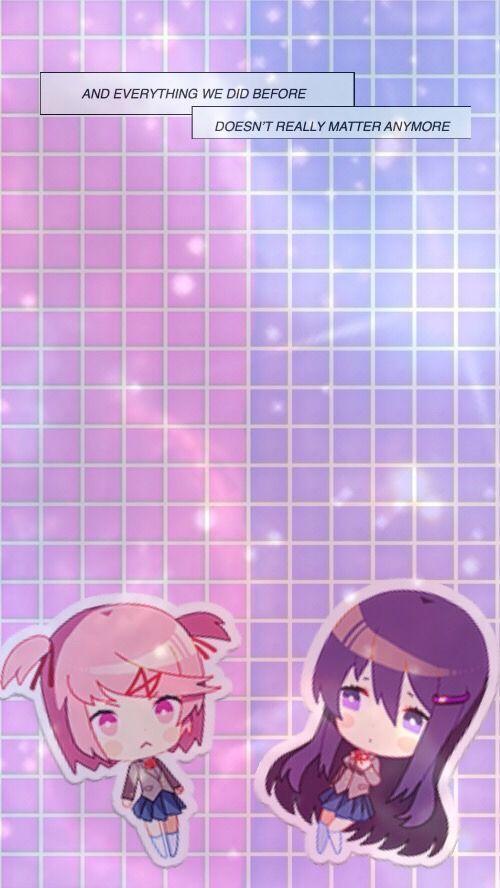 Ddlc Wallpaper Tumblr Literature Club Literature Anime Wallpaper