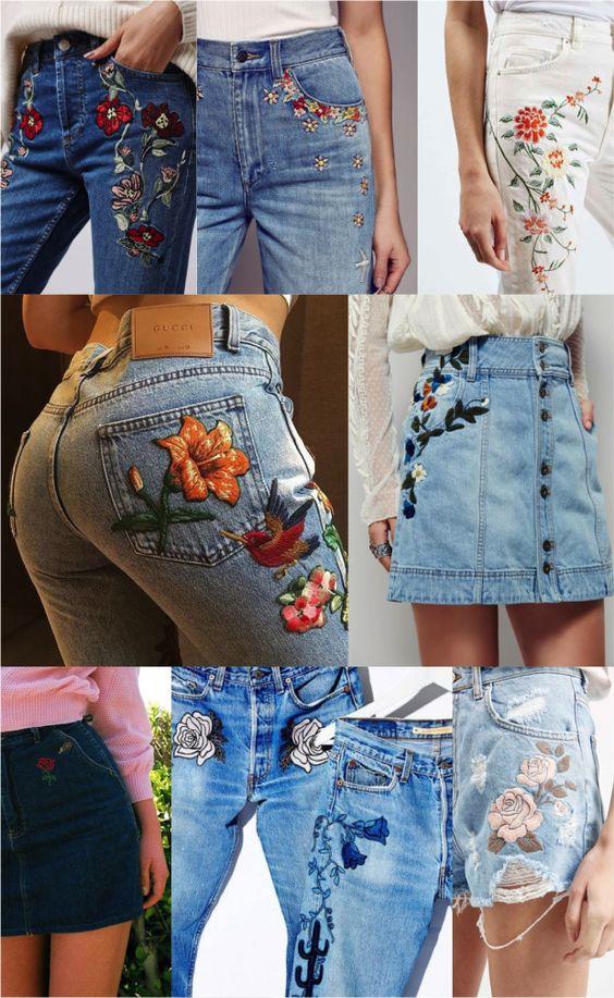 Bordado Jeans: