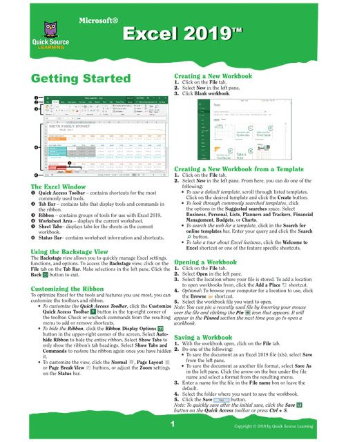 Excel 2019 Excel Microsoft Excel Tutorial Excel Shortcuts Cheat Sheets