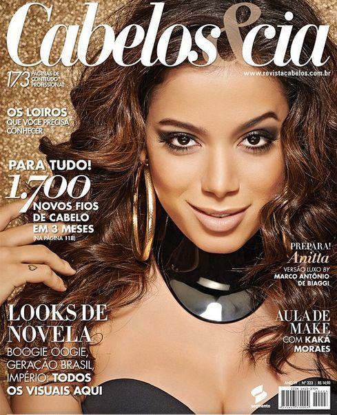 Capa da revista Cabelos&Cia de Setembro nº223
