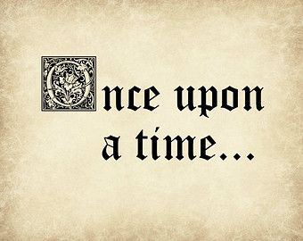 once upon a time fairy tale font google search once