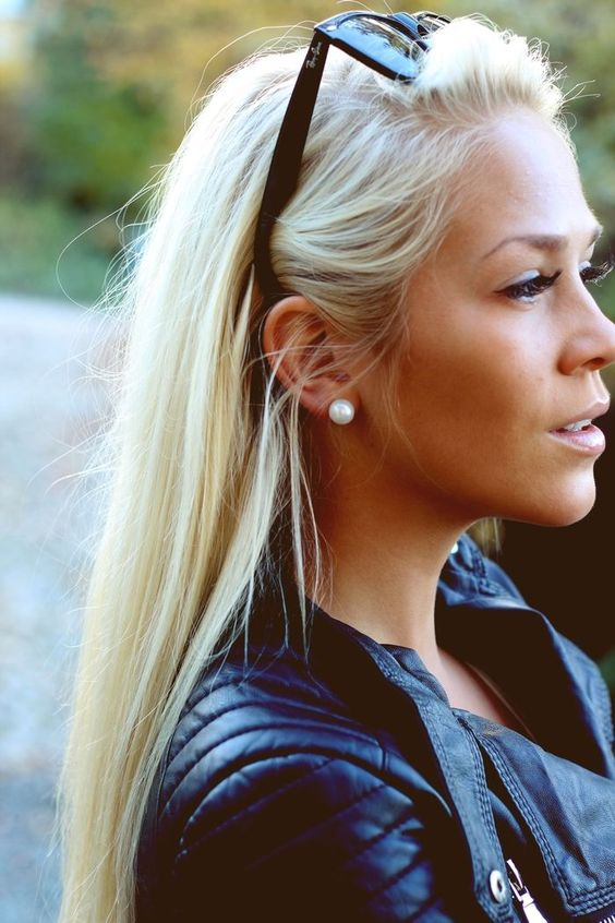 Groovy Long Blonde Hairstyles Blonde Hairstyles And Blondes On Pinterest Hairstyle Inspiration Daily Dogsangcom
