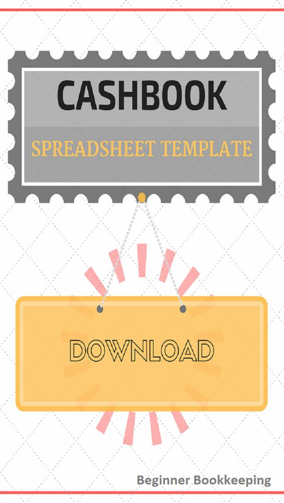 Cashbook template - record money spent and earned on your blog - free accounting ledger