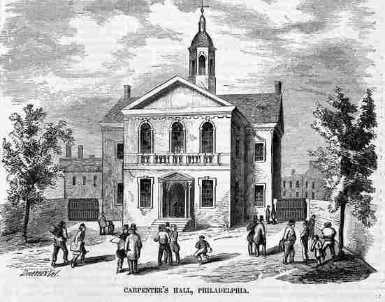continental congress in philadelphia essay Webster urged the continental congress to rely on taxation, rather than foreign   philadelphia gazette, [1791 repr] [anon] an essay, or humble attempt to.