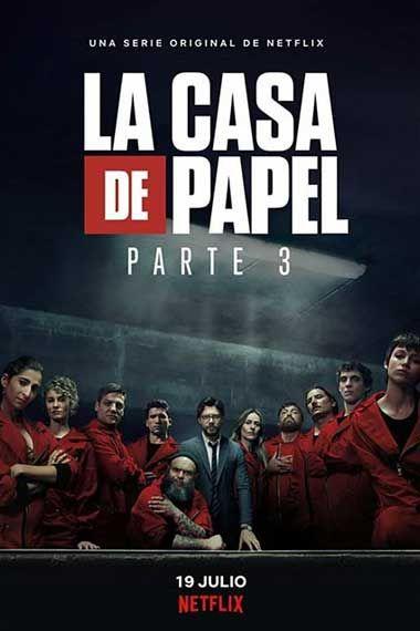 Ver La Casa De Papel Temporada 3 Capitulo 4 Online Hd Pelismart Tv Series 2017 Netflix Movies Poster Series