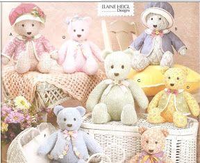 Moldes Ursos - Suely Maria - Álbuns da web do Picasa
