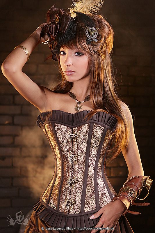 Beautiful corset would look really cute with some tight jeans !!