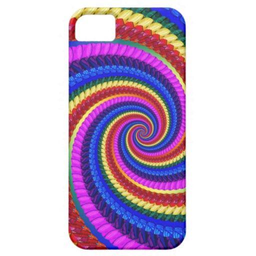 #Rainbow #Fractal Art Swirl Pattern #Iphone 5 Case $44.95