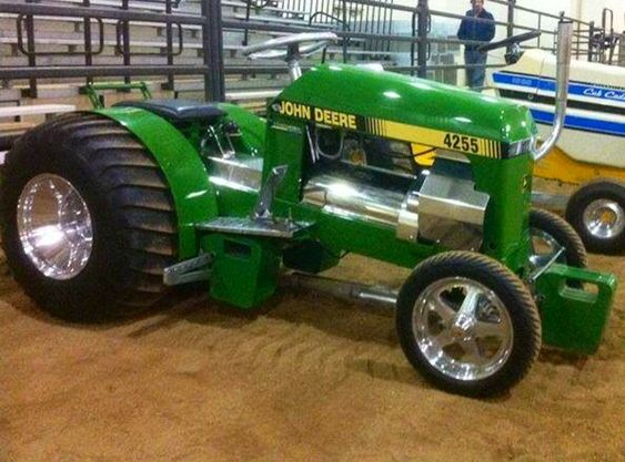 Garden Tractor Pulling Crashes : Nice on pinterest