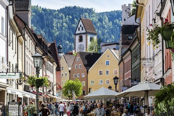 Old town, Füssen, Germany