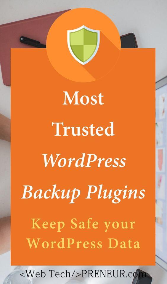 WordPress Backup Plugins: Keep Safe Your WP Site #blogging #wordpress #security #plugins #database #backup
