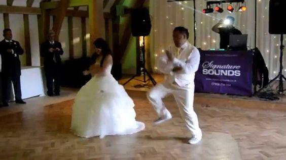 AJ Wedding Bride and Groom First Dance Surprise 2014