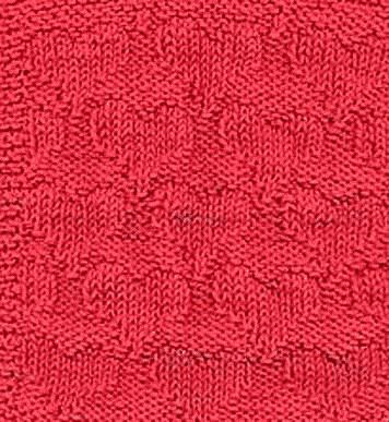 Knit And Purl Hearts Cloth Knitting Pattern - really like this pattern...maybe a baby shower present for someone