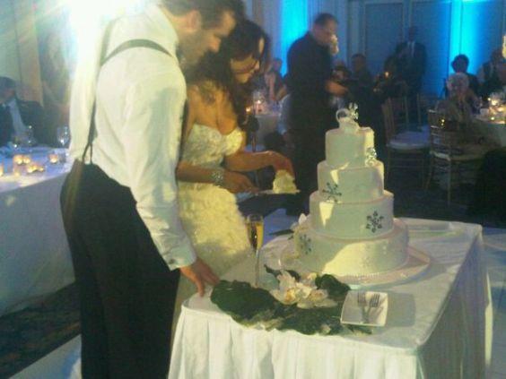 Dustin Penner (Oilers Edmonton - Kings Los Angeles) avec Jessica Welch. Maintenant divorcé.