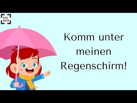 Komm Unter Meinen Regenschirm Studio 2str Youtube Regenschirm Schirm Regen