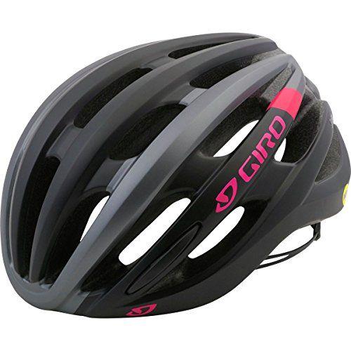 Giro Saga Mips Cycling Helmet Women S Matte Black Pink Race