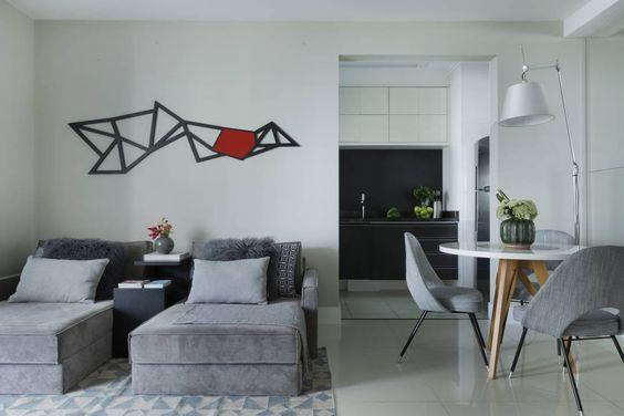 Campo Belo : Salas de estar modernas por Studio GPPA