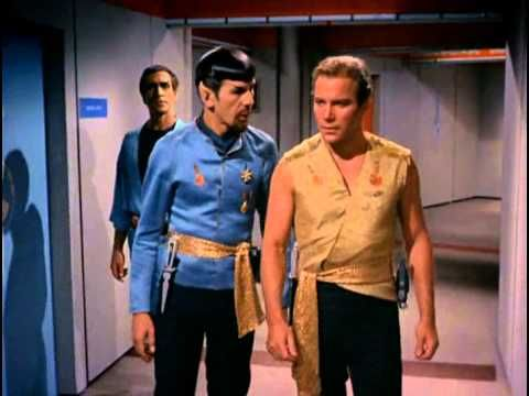 """TOS Mirror Mirror - """"It was easy for you, as civilized men, to behave like barbarians that it was for them, barbarians to behave like civilized men."""" ---Mr. Spock"""