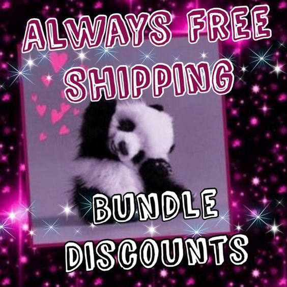Panda's Promise Always free shipping (minus $5) from your order over $30. Bundle discounts always! Just ask! @mandapanda83 Bags