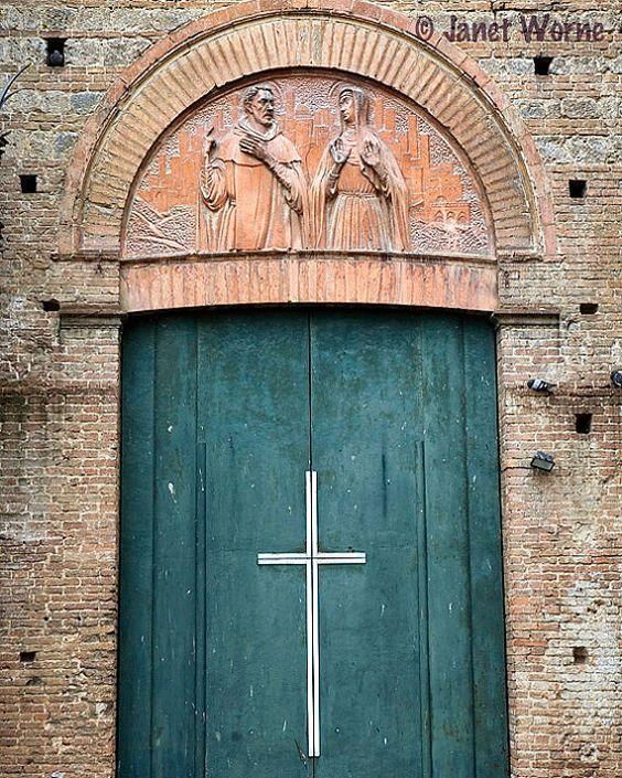 Basilica of San Domenico in Siena, Italy