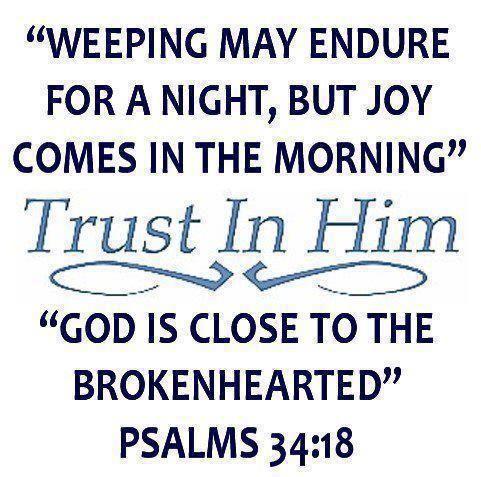 Psalm 34: 18 - Trust