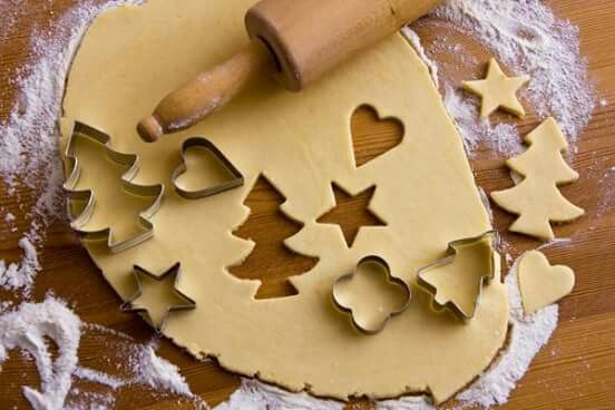 Biscoitos natal.