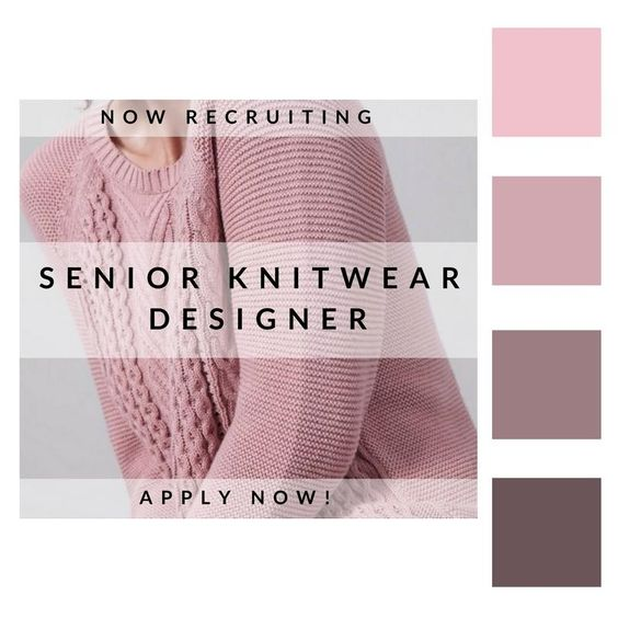 Are you a #Knitwear fanatic with experience? We've got a Senior Knitwear #Designer role that might be of interest…. http://ow.ly/aO7E3040IBx