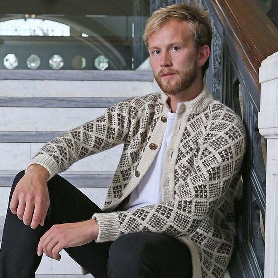 streymoy sweater pattern, Hoe mooi komt zo'n fair isle patroon over.