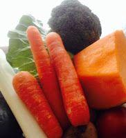 O cestinho da mamã     : As crianças e os legumes