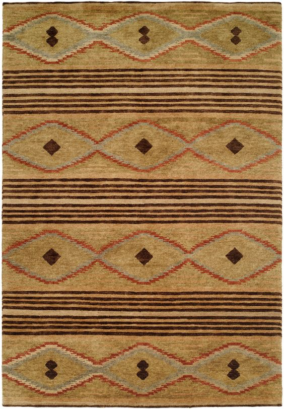 RugStudio presents Famous Maker Mojore 100692 Hand-Knotted, Best Quality Area Rug