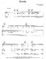 Coldplay - Gravity - Free Downloadable Sheet Music