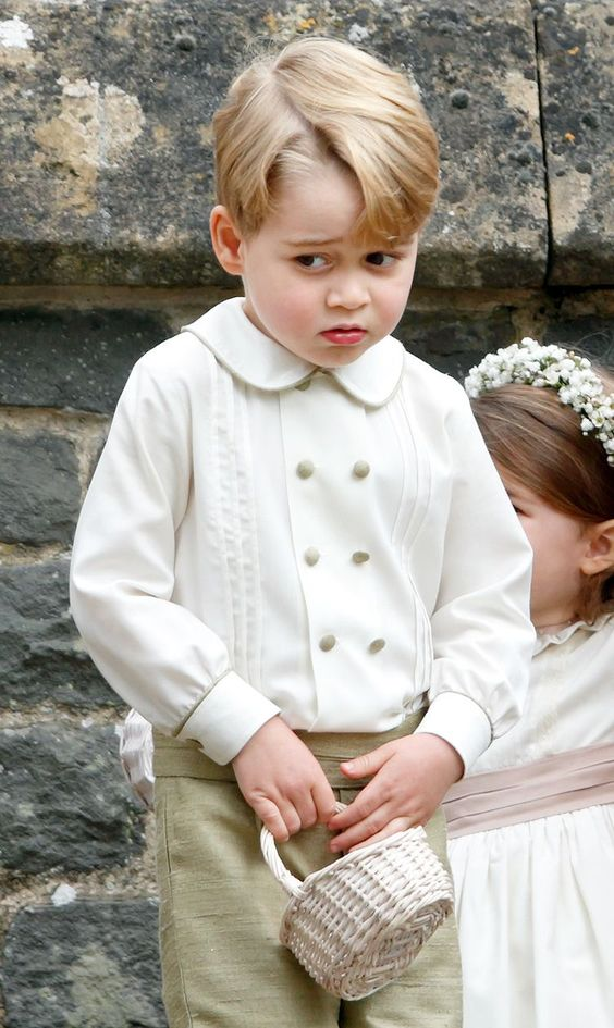 When Prince George Was Cry-Shamed at His Aunt Pippa's Wedding - Cosmopolitan.com