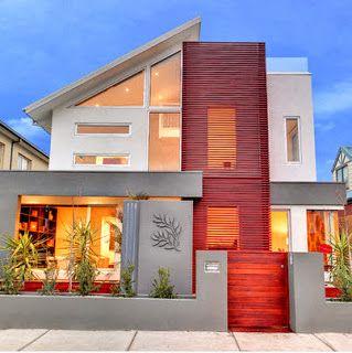 Casa de lujo de dos pisos