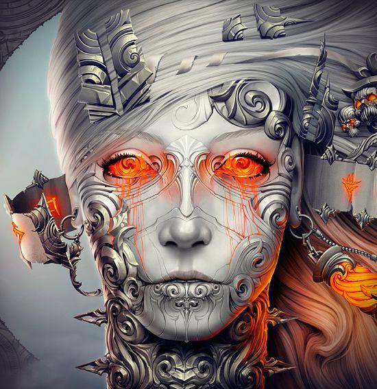 ✯ Digital Art by Alexander Fedosov ✯  Visit Awesome Art & Model on Facebook