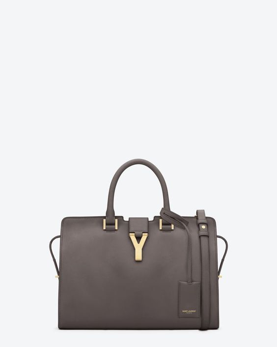 ysl y tote - Saint Laurent Classic Small Cabas Y Bag In Earth Leather | ysl.com ...