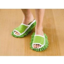 Sweep Without Bending with these Slippers #magnamail          H1259 Sparkle Slippers