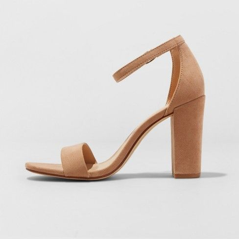 Women's Ema Pumps - A New Day™ Taupe 6