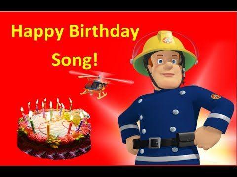 Fireman Sam Happy Birthday Song Usa Uk Youtube Happy Birthday Sam Birthday Songs Happy Birthday Song