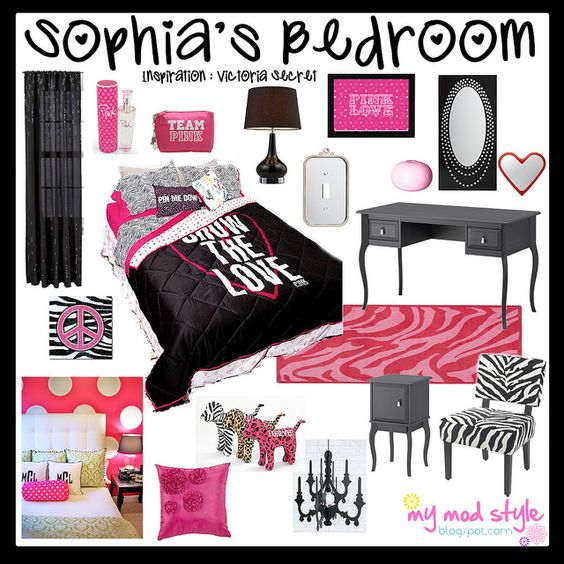 Design board victoria secret bedroom by jessie my mod for Victoria secret bathroom ideas