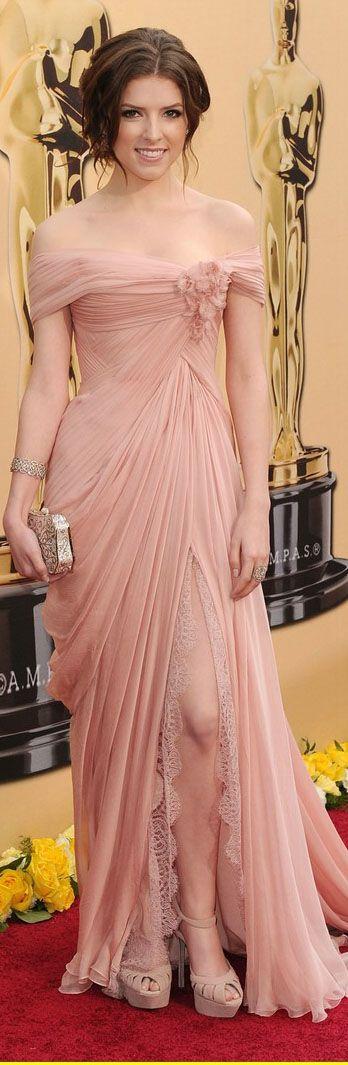 Oscar red carpet: Zoe Saldana, Anna Kendrick in gowns fresh from Paris couture…