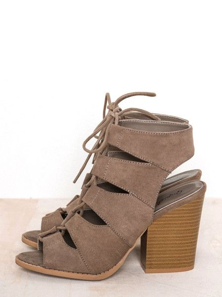 Addie Lace-Up Sandal - Irene's Story