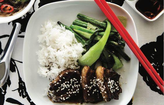 Altoa Sticky Szechuan Pork Belly And Asian Broth Skinnymixers In 2020 Pork Belly Thermomix Recipes Sticky Pork
