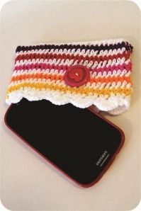 diy android crochet case
