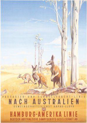 Hamburg-Amerika Linie - Australie - 1934 - (Ottomar Anton) -
