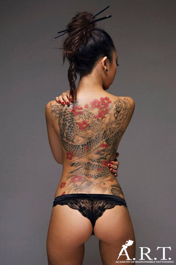 Chinese Dragon tattoo. Contact us for more information on how to become a tattoo artist today! Get more details at www.tattooschool-art.com.