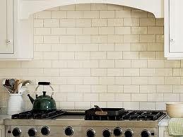 Biscuit Crackle Subway Tile Kitchen Remodel Ideas