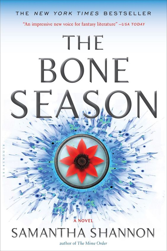 US Paperback #CoverReveal   The Bone Season (The Bone Season, #1) by Samantha Shannon: